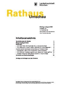 Rathaus Umschau 145 / 2020