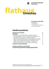 Rathaus Umschau 148 / 2020