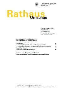 Rathaus Umschau 149 / 2020