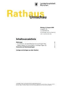 Rathaus Umschau 150 / 2020