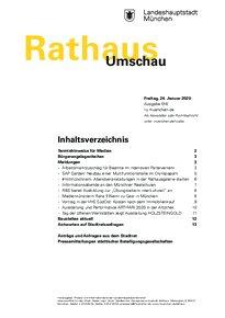 Rathaus Umschau 16 / 2020
