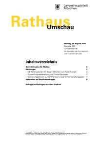 Rathaus Umschau 160 / 2020