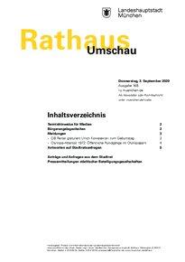 Rathaus Umschau 168 / 2020