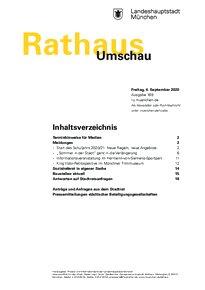 Rathaus Umschau 169 / 2020