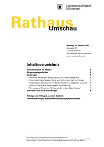 Rathaus Umschau 17 / 2020