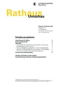 Rathaus Umschau 170 / 2020