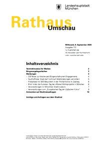 Rathaus Umschau 172 / 2020