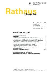 Rathaus Umschau 174 / 2020