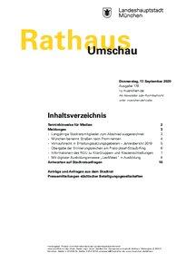 Rathaus Umschau 178 / 2020