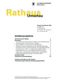 Rathaus Umschau 179 / 2020