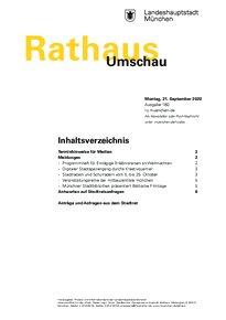 Rathaus Umschau 180 / 2020