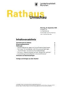 Rathaus Umschau 181 / 2020