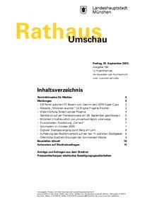 Rathaus Umschau 184 / 2020