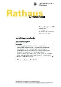 Rathaus Umschau 185 / 2020