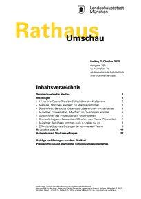 Rathaus Umschau 189 / 2020