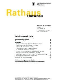 Rathaus Umschau 19 / 2020