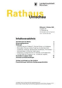 Rathaus Umschau 192 / 2020