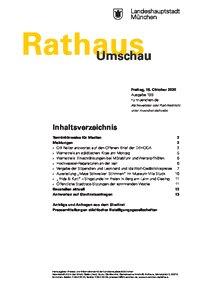 Rathaus Umschau 199 / 2020