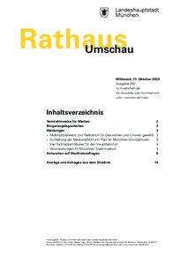 Rathaus Umschau 202 / 2020