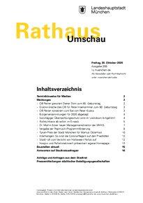 Rathaus Umschau 209 / 2020