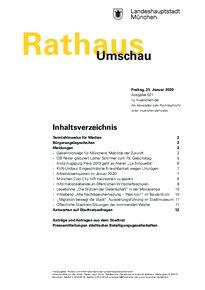 Rathaus Umschau 21 / 2020