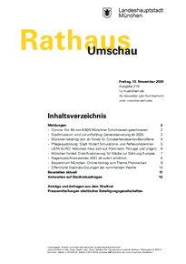 Rathaus Umschau 219 / 2020