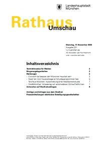 Rathaus Umschau 221 / 2020