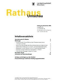 Rathaus Umschau 224 / 2020