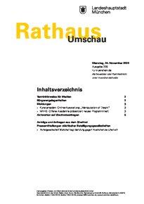 Rathaus Umschau 226 / 2020