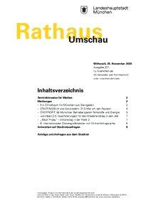 Rathaus Umschau 227 / 2020