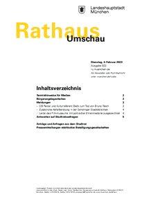 Rathaus Umschau 23 / 2020
