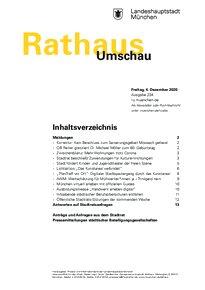 Rathaus Umschau 234 / 2020