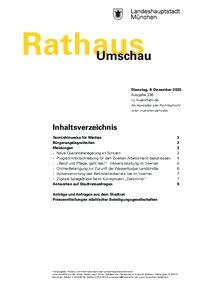 Rathaus Umschau 236 / 2020