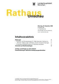 Rathaus Umschau 246 / 2020