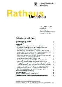 Rathaus Umschau 26 / 2020