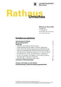 Rathaus Umschau 29 / 2020