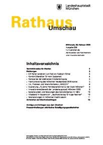 Rathaus Umschau 38 / 2020