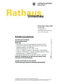 Rathaus Umschau 39 / 2020