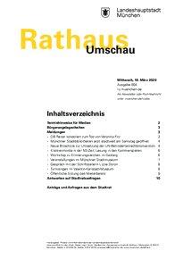 Rathaus Umschau 4 / 2020