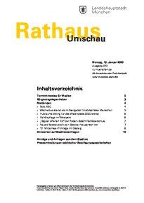 Rathaus Umschau 43 / 2020