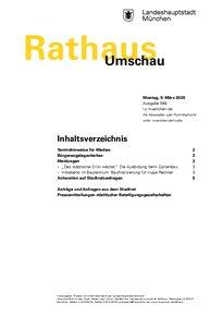 Rathaus Umschau 46 / 2020