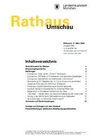 Rathaus Umschau 48 / 2020