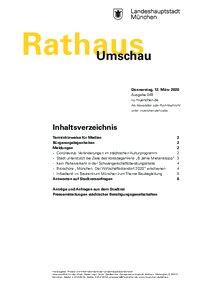 Rathaus Umschau 49 / 2020