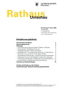 Rathaus Umschau 5 / 2020