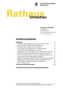 Rathaus Umschau 52 / 2020
