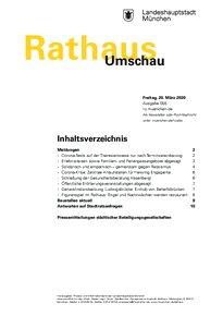 Rathaus Umschau 55 / 2020