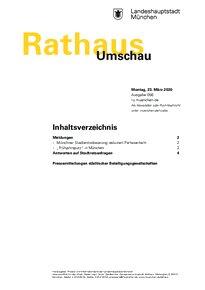 Rathaus Umschau 56 / 2020