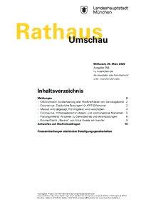 Rathaus Umschau 58 / 2020