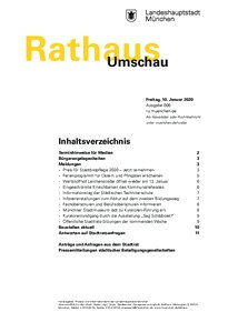 Rathaus Umschau 6 / 2020
