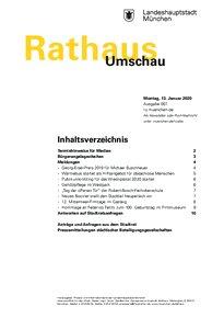 Rathaus Umschau 7 / 2020
